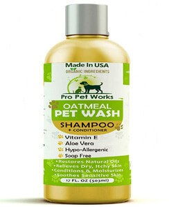 Pro Pet Works All Natural Oatmeal Dog Shampoo + Conditioner