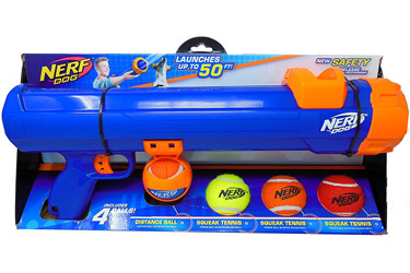 Nerf Dog Tennis Ball Blaster Great Dane Toy