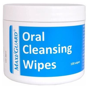 MaxiGuard Oral Cleansing Wipes – 100 Wipes