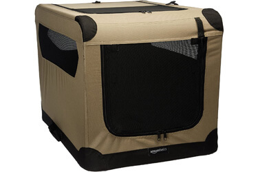 AmazonBasics Portable Folding Soft Dog Travel Crate Kennel