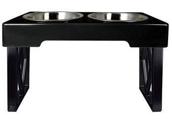 Pet Zone Designer Diner ADJUSTABLE Elevated Dog Bowls for Vizsla