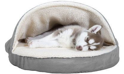 Furhaven Pet Cave Dog Bed for Dogs