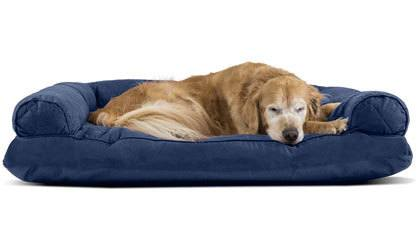 Furhaven Pet - Sofa-Style Dog Pillow Bed